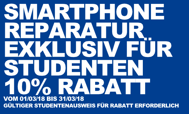 Handyklinik Saarbrücken Studenten